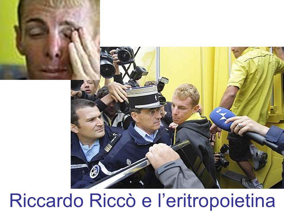 Riccardo Riccò e leritropoietina