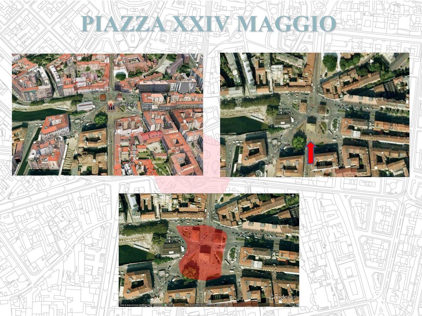 PIAZZA XXIV MAGGIO PIAZZA XXIV MAGGIO
