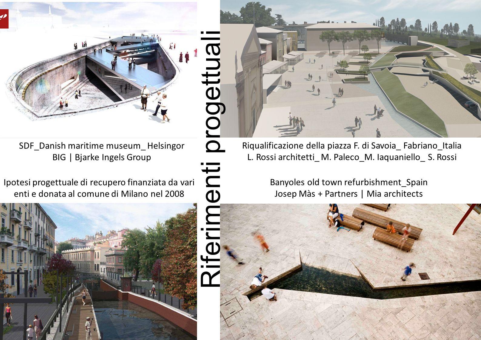 SDF_Danish maritime museum_ Helsingor BIG | Bjarke Ingels Group Ipotesi progettuale di recupero finanziata da vari enti e donata al comune di Milano nel 2008 Riqualificazione della piazza F.