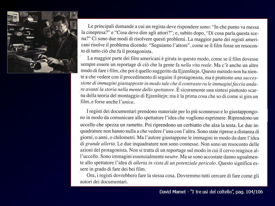 Mamet David Mamet - I tre usi del coltello, pag. 104/106