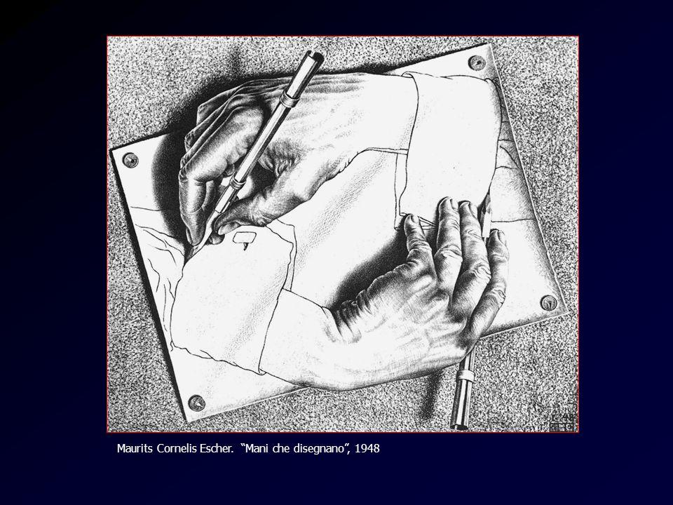 Escher Maurits Cornelis Escher. Mani che disegnano, 1948