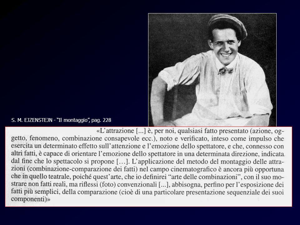 Attrazioni (Ejzenstein) S. M. EJZENSTEJN - Il montaggio, pag. 228