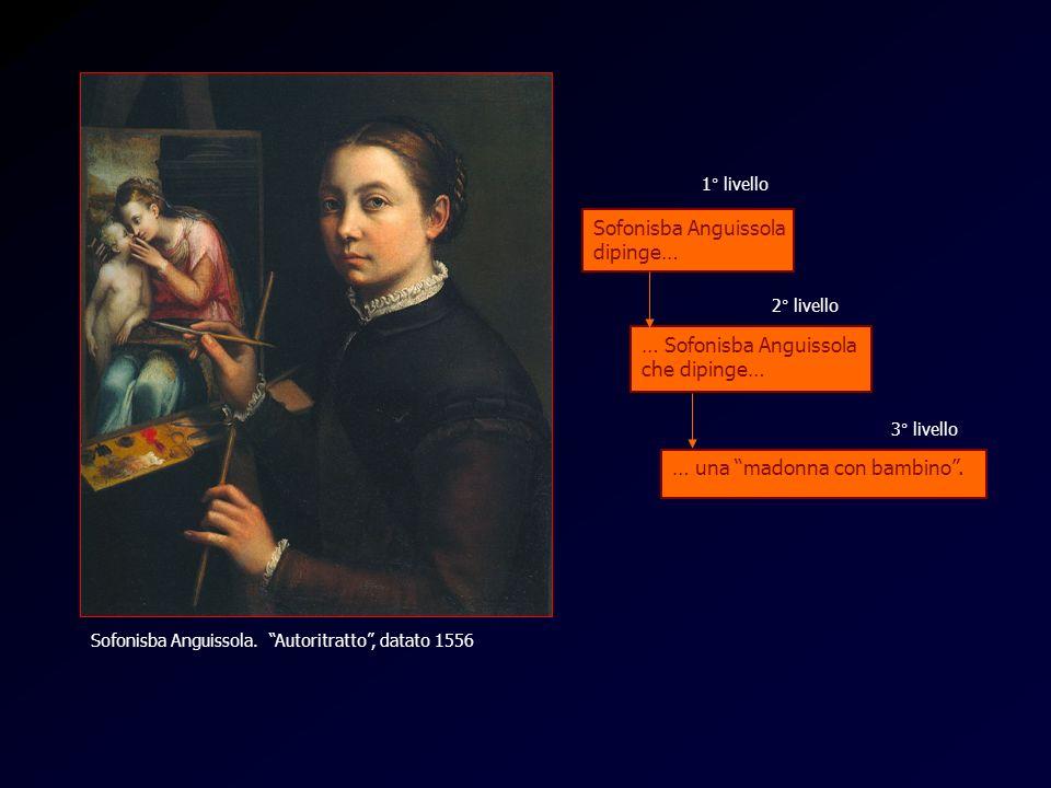 Anguissola 1 Sofonisba Anguissola dipinge… … Sofonisba Anguissola che dipinge… … una madonna con bambino. 1° livello 2° livello 3° livello Sofonisba A