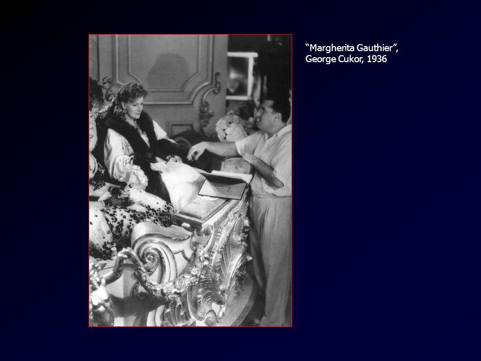 Cukor/Garbo Margherita Gauthier, George Cukor, 1936