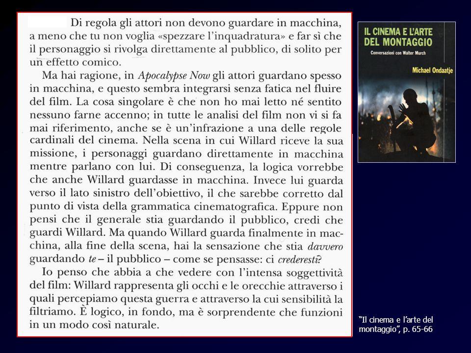 Apocalypse Il cinema e larte del montaggio, p. 65-66