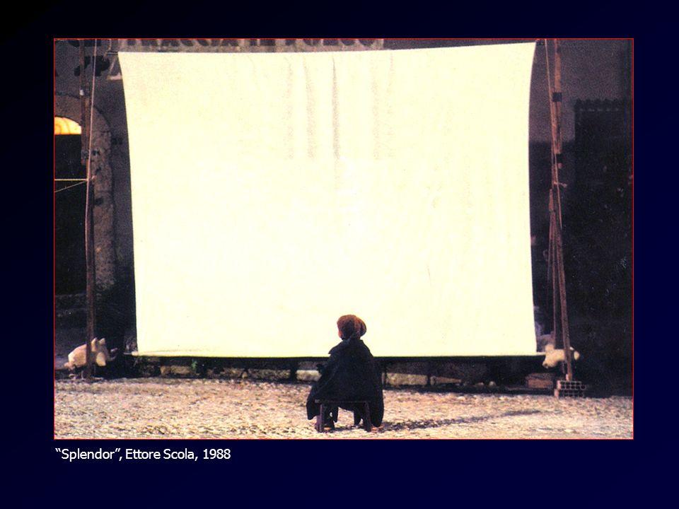 La tela bianca Splendor, Ettore Scola, 1988