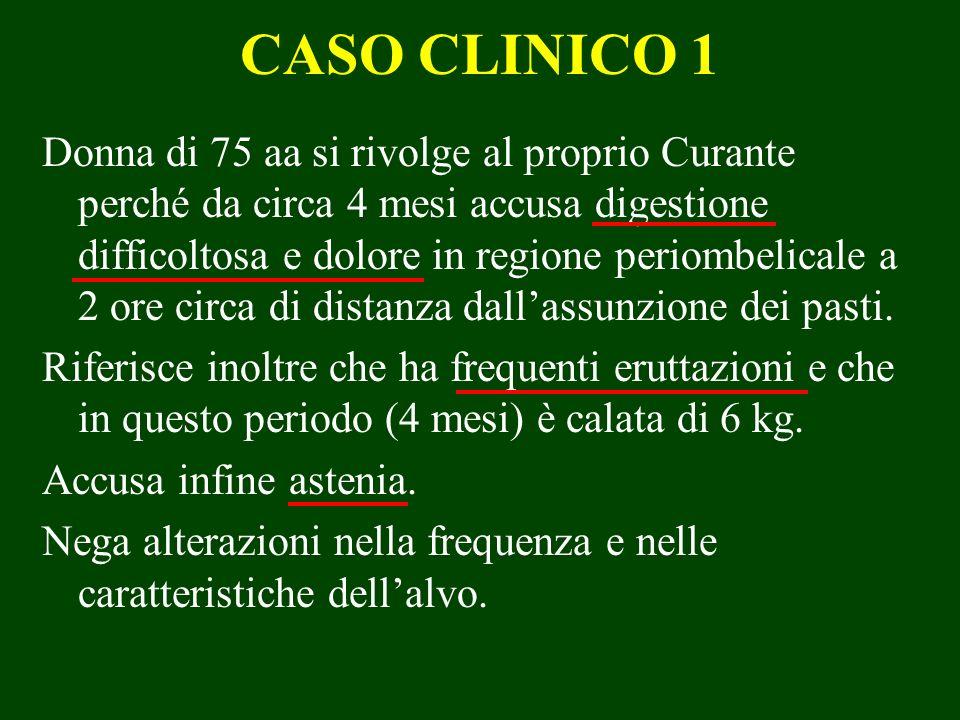 COMPLICANZE: STENOSI PILOROBULBARE (5) STRATEGIA CHIRURGICA: -Gastrectomia parziale e ricostruzione secondo Billroth II -Gastrodigiunostomia di Jaboulay + vagotomia selettiva (se è prevista anche unoperazione per lulcera oltre che per la stenosi) -Antrectomia + vagotomia.