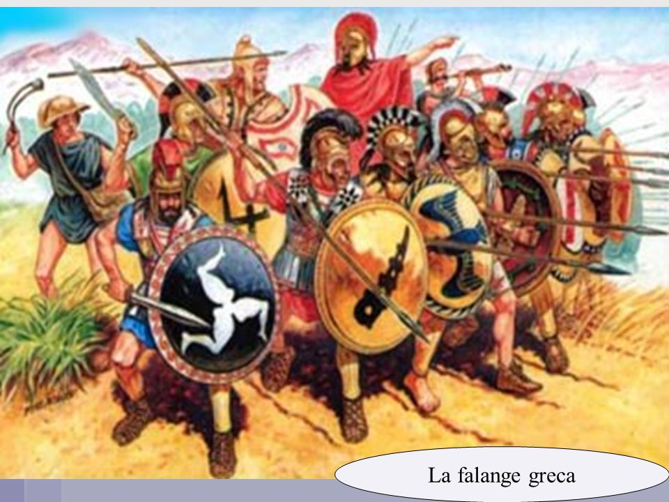 La falange greca