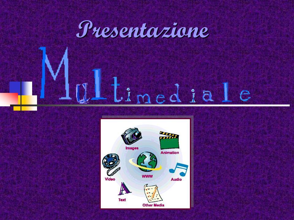 Presentazioni multimediali Elementi strutturali di una presentazioni multimediale: Pagine (Slide,nodi) Sfondo ( background) Libro