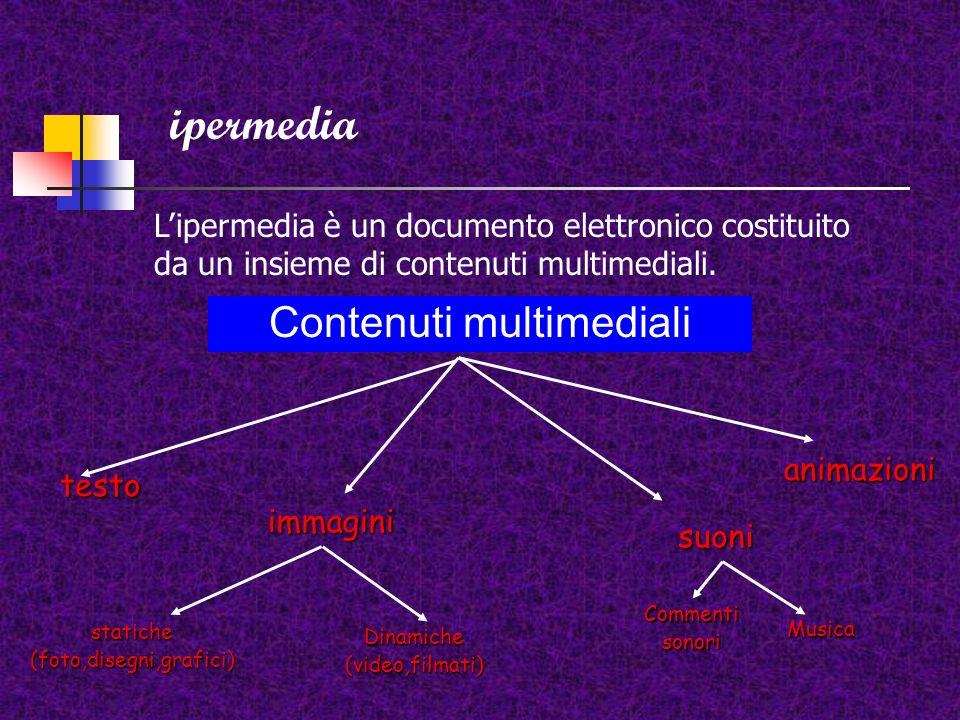 Presentazioni multimediali, ipertesti, ipermedia Le presentazioni multimediali ipertesti e ipermedia sono una rete di nodi o pagine elettroniche (slid