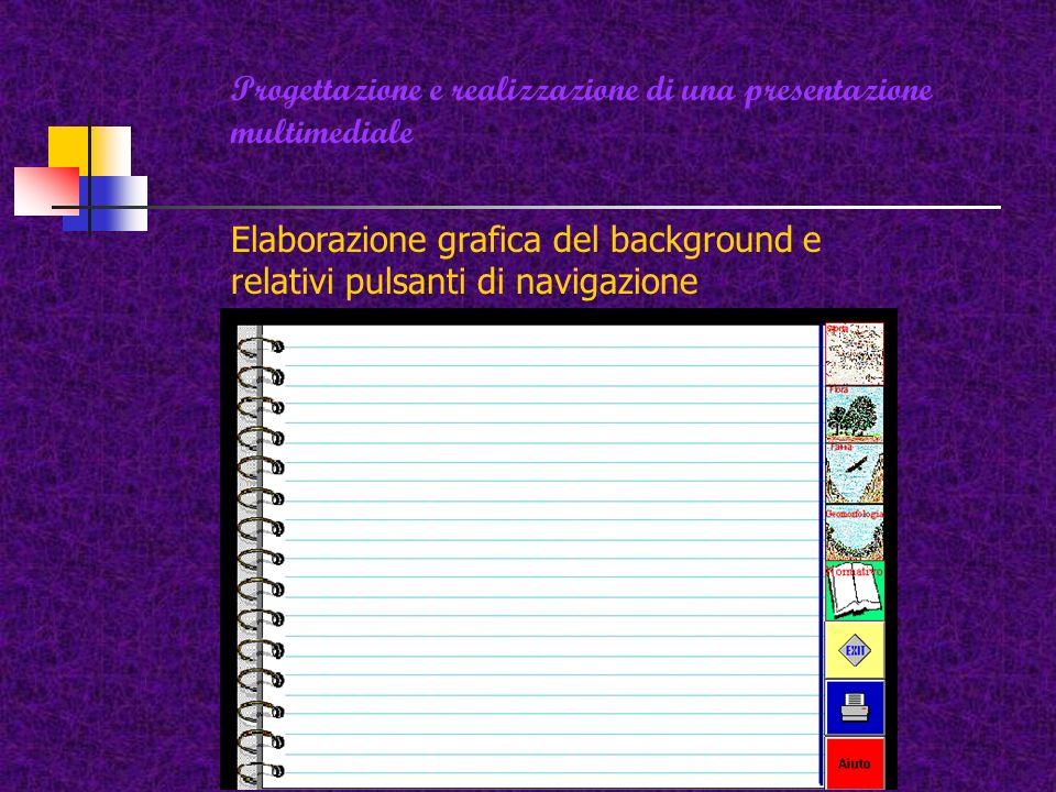 Home page (pagina iniziale di navigazione) Home page presenta sempre un indice tematico interattivo per facilitare la navigazione e lesplorazione dei