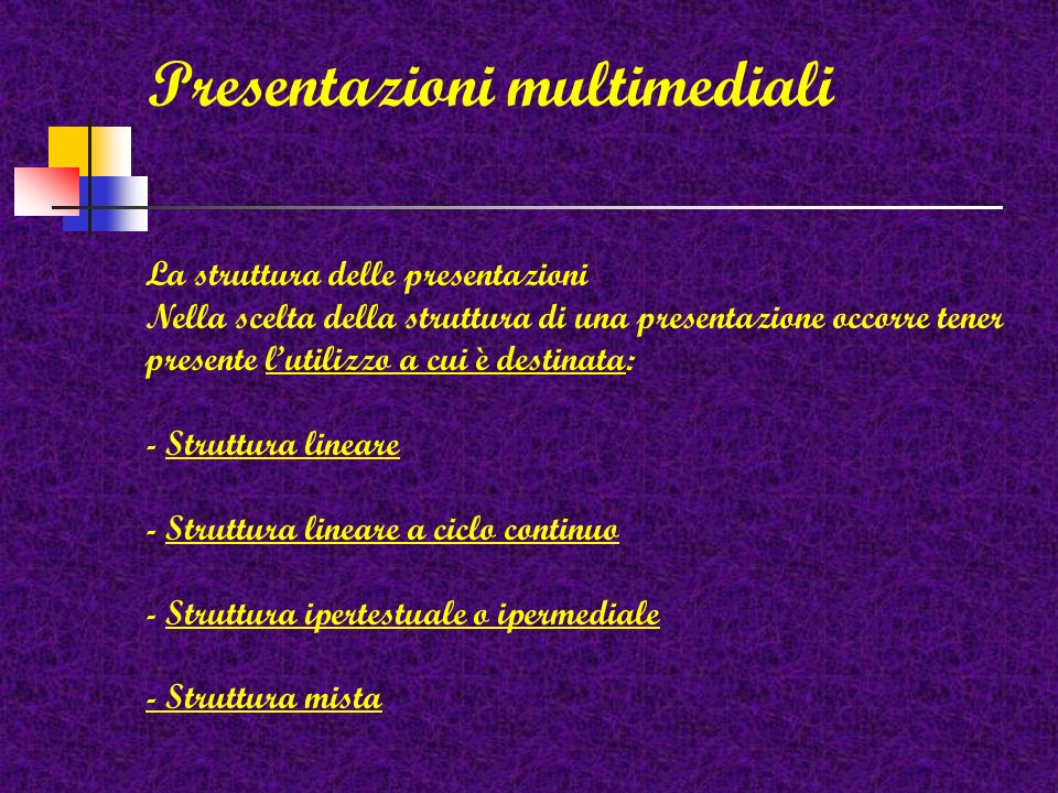 Software autore per la realizzazione di presentazioni multimediali Toolbook Amico 4.0 Incomedia NeoBook Power Point Ecc.