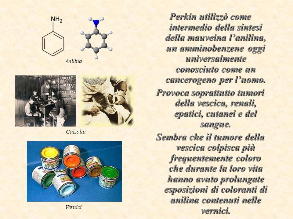 Le molecole dei coloranti hanno cambiato la storia.