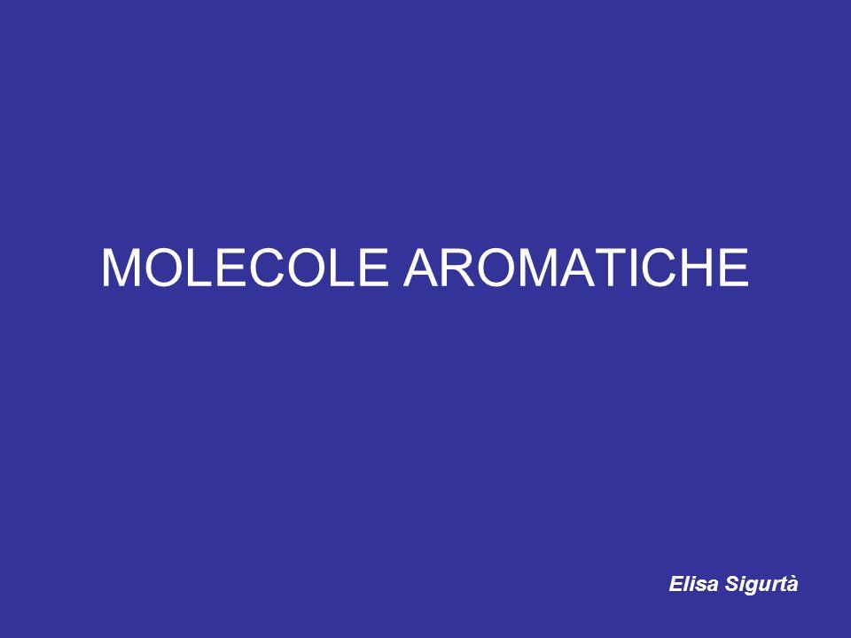 aromatico Italiano comune: che ha odore fragrante, speziato, pungente o inebriante, con la connotazione di buon odore Terminologia chimica: composto che contiene la struttura ad anello del benzene
