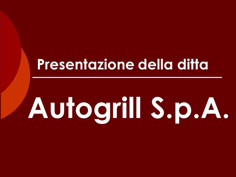 Presentazione della ditta Autogrill S.p.A.