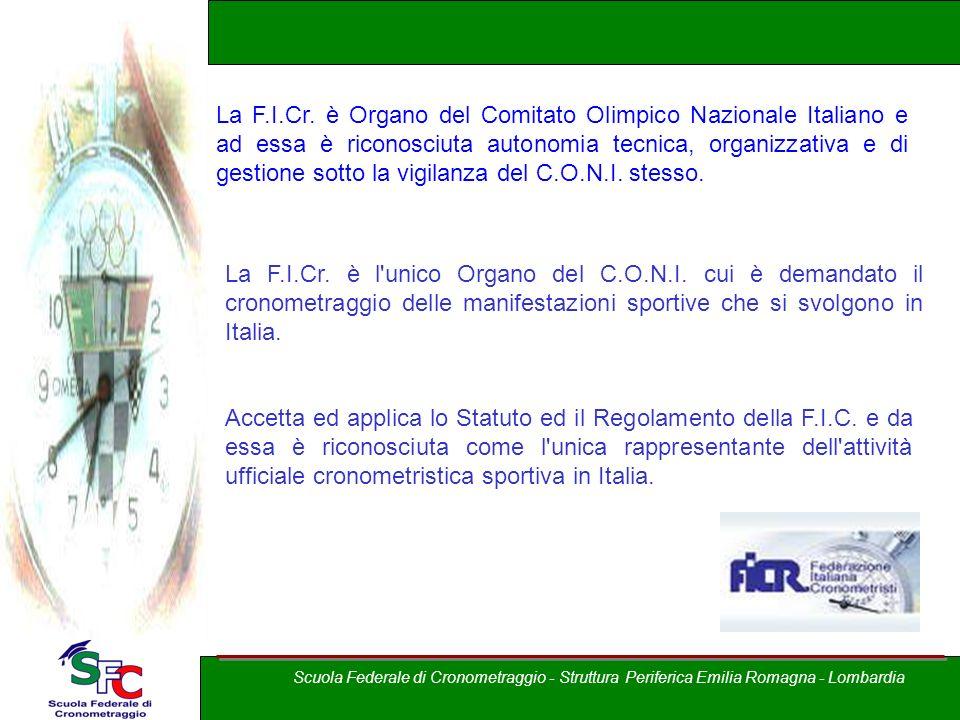 Corso Allievi cronometristi - atletica A cura di Andrea Pederzoli La F.I.Cr.