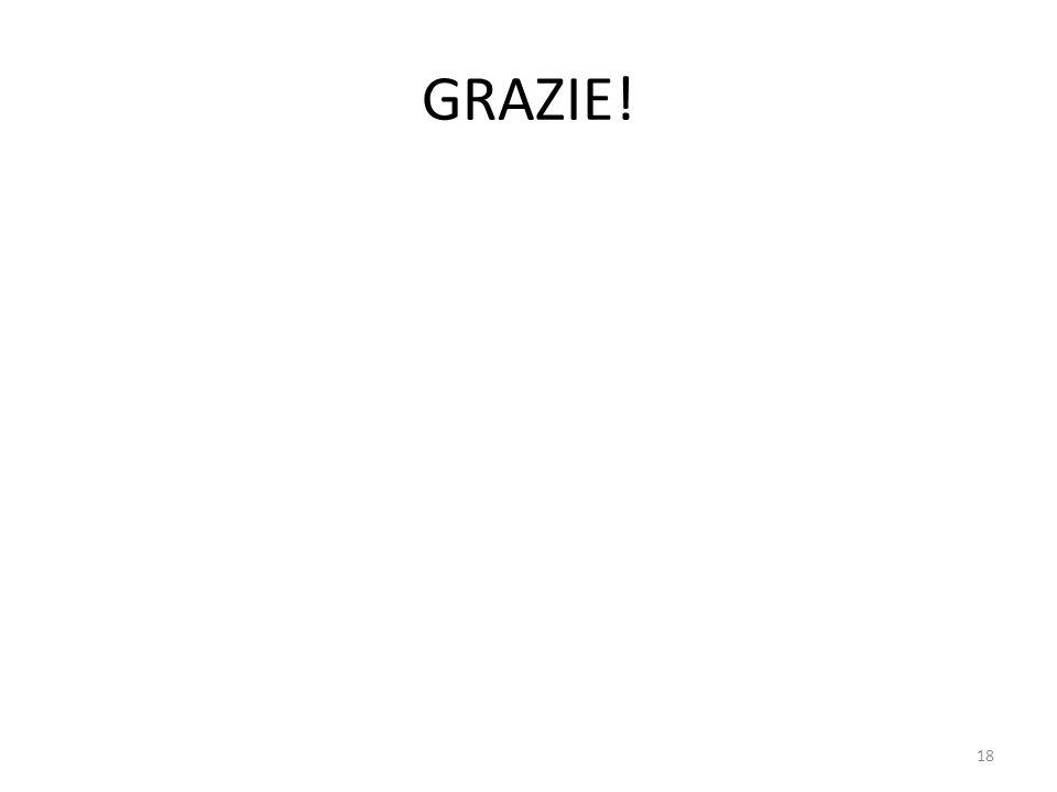 GRAZIE! 18