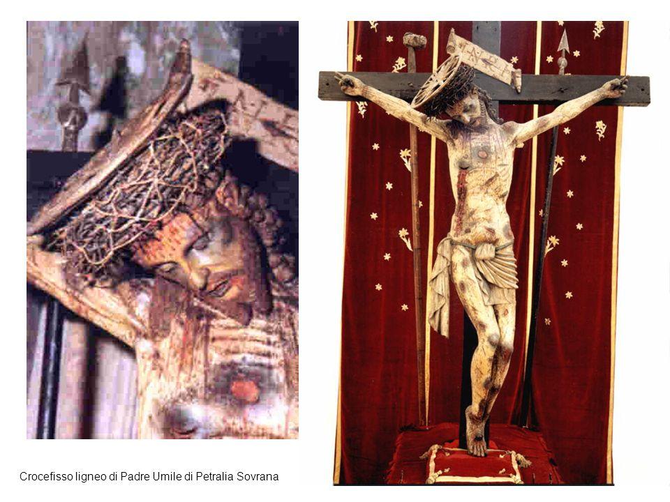 30 Crocefisso ligneo di Padre Umile di Petralia Sovrana