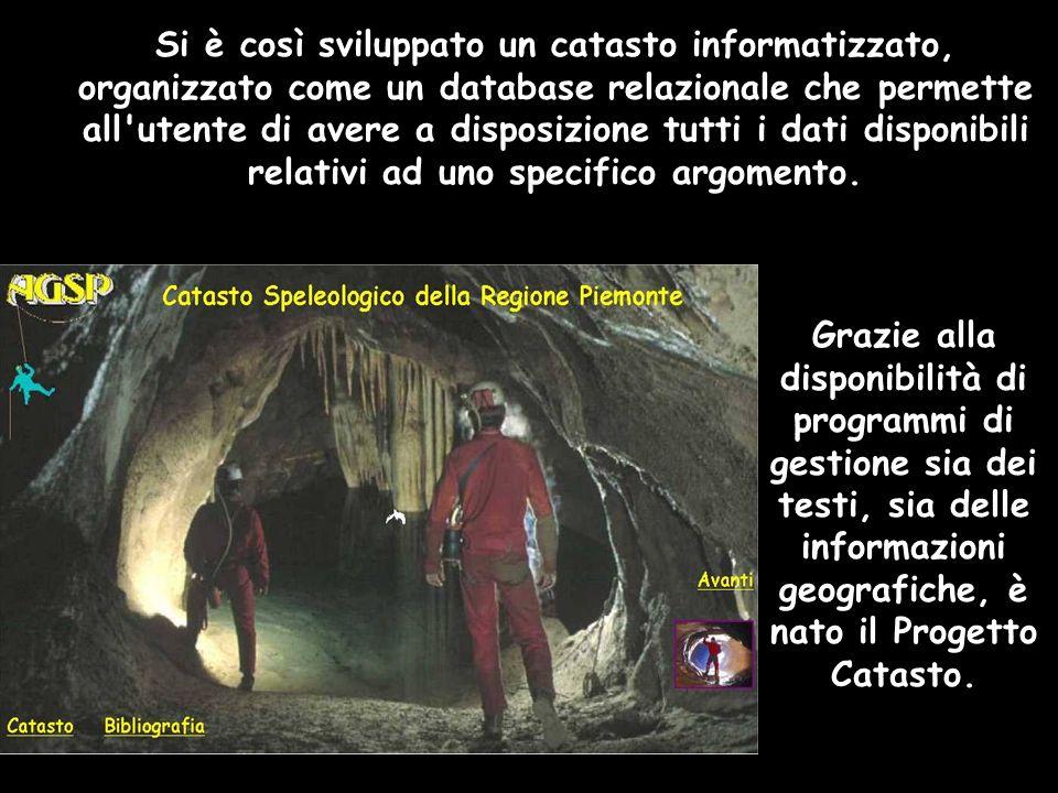 Grazie alla disponibilità di programmi di gestione sia dei testi, sia delle informazioni geografiche, è nato il Progetto Catasto.