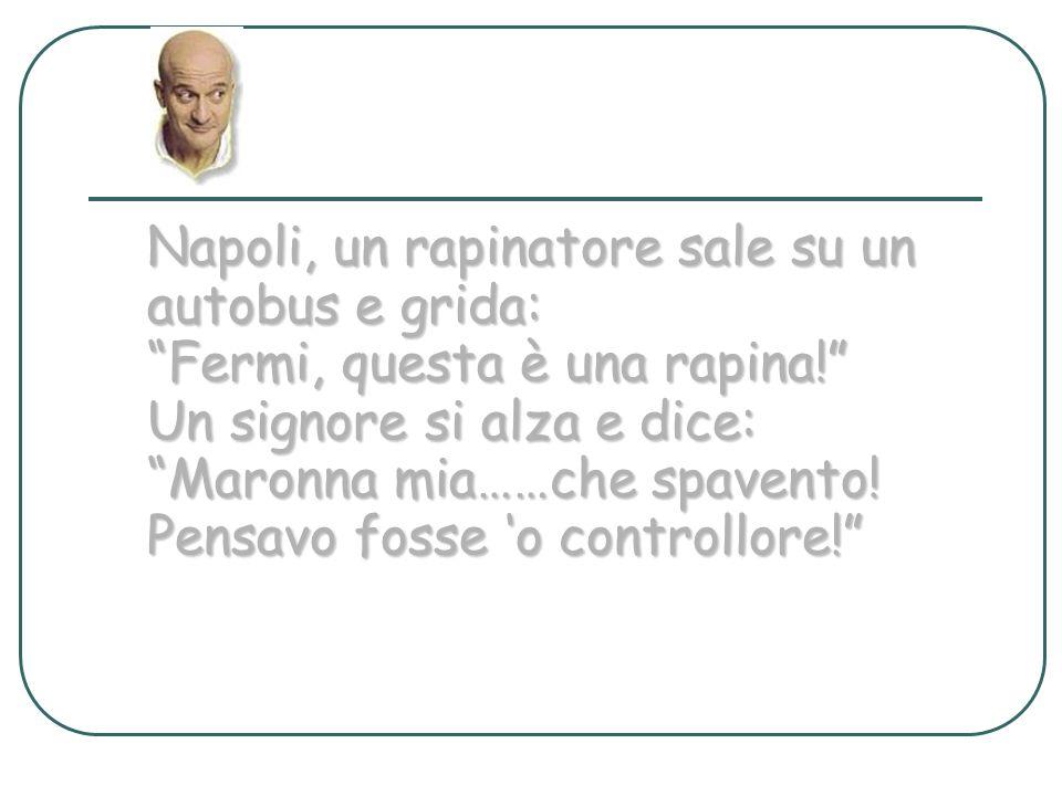 Napoli, un rapinatore sale su un autobus e grida: Fermi, questa è una rapina.