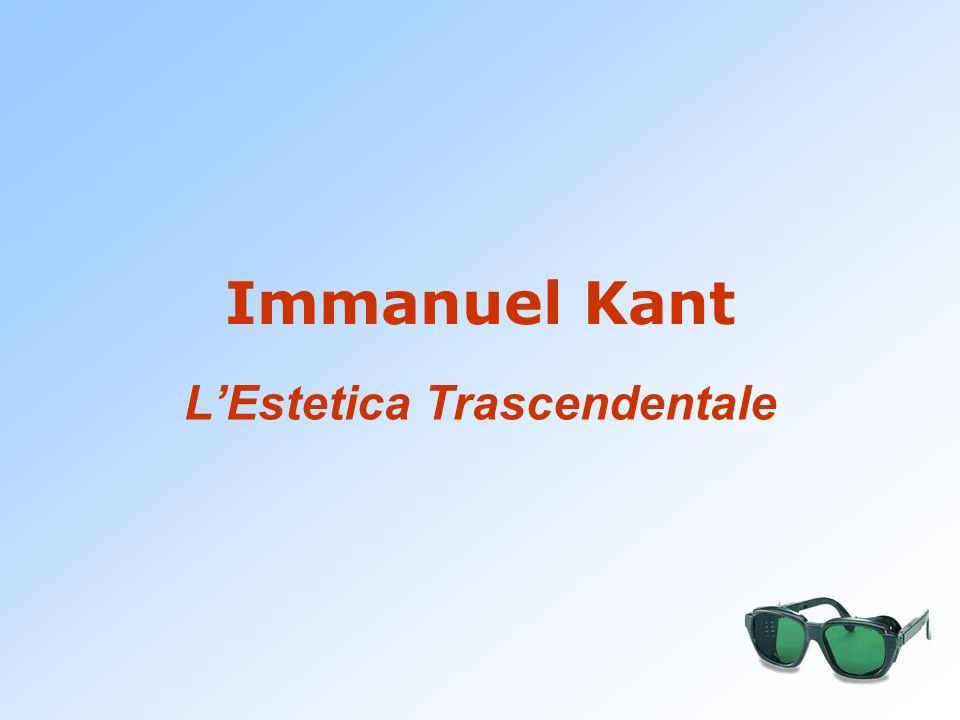 Immanuel Kant LEstetica Trascendentale