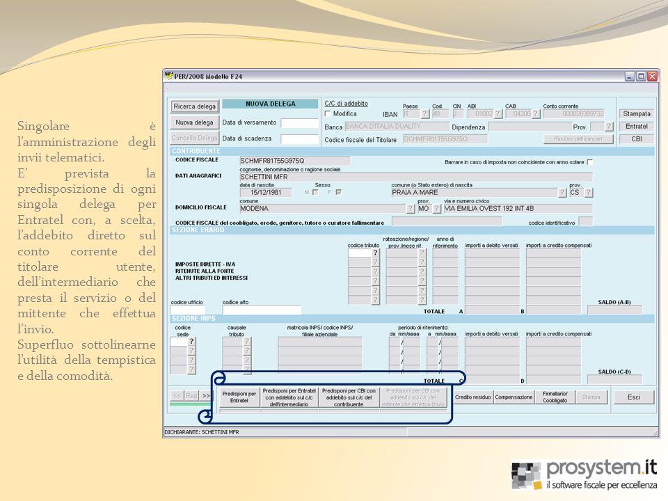 La funzione di Ravvedimento Operoso consente di gestire lo stesso, semplicemente, inserendo le date dei versamenti tardivi e gli importi.