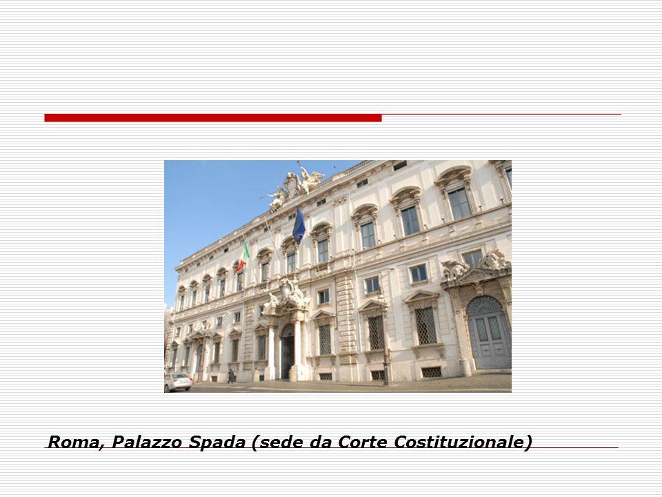 Roma, Palazzo Spada (sede da Corte Costituzionale)
