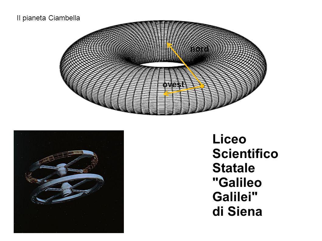 Il pianeta Ciambella nord ovest Liceo Scientifico Statale Galileo Galilei di Siena