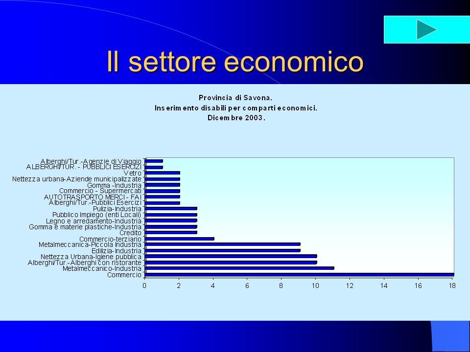 Il settore economico