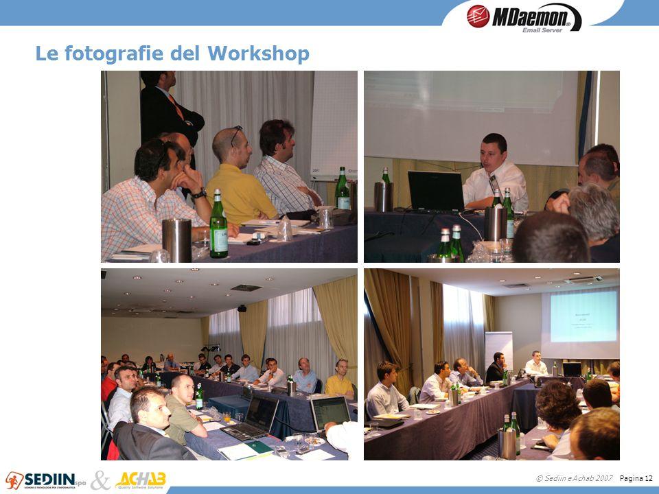 © Sediin e Achab 2007 Pagina 12 Le fotografie del Workshop