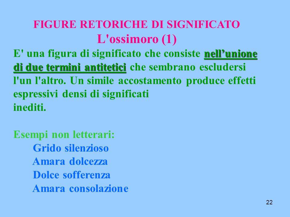 21 SINESTESIA(2) Es.... l'urlo nero della madre che andava incontro al figlio crocifisso sul palo del telegrafo... (S. Quasimodo) Percezione uditiva p