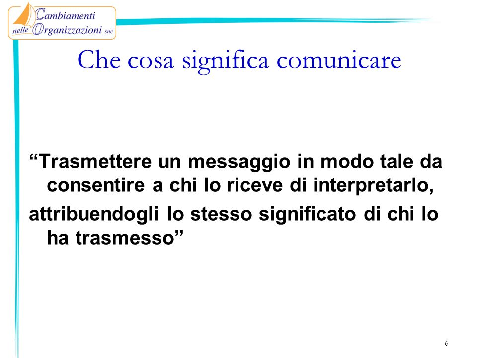 7 EmittenteMessaggio Ricevente CONTESTO CODICE Codifica Decodifica Rumore/Disturbi Feedback Ridondanza CANALE
