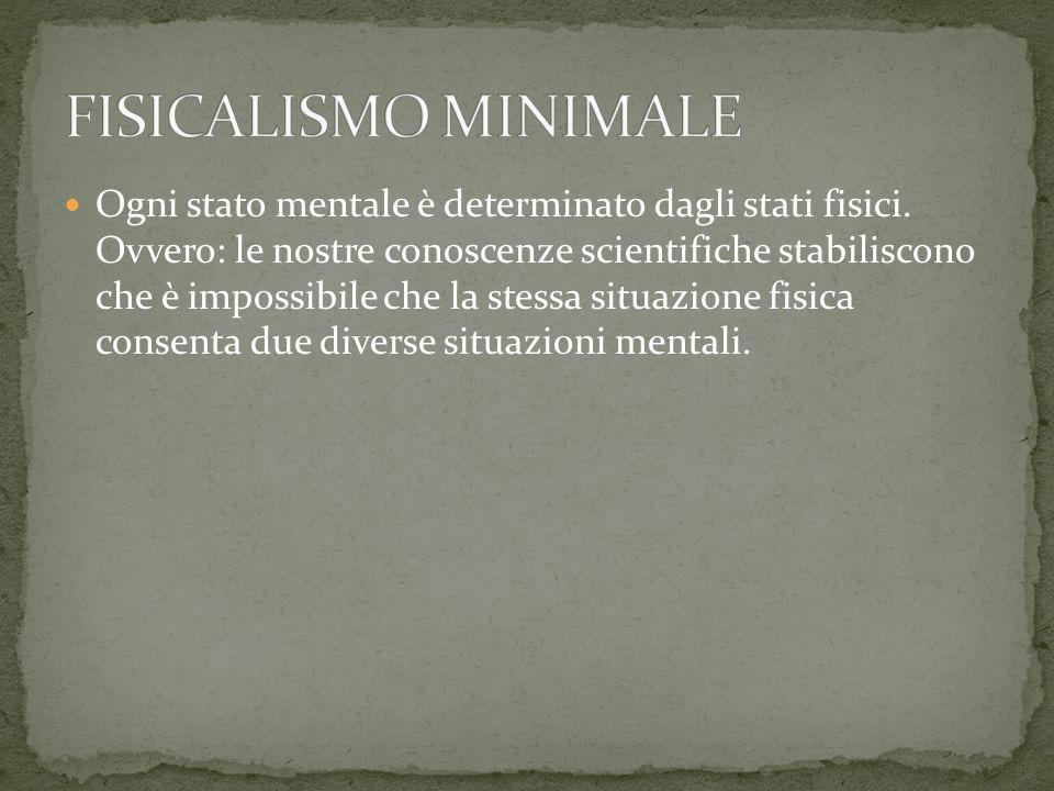 Se vale il fisicalismo minimale, allora lunica forma di libertà per luomo sarebbe quella che Peter van Inwagen ha chiamato compatibilismo.