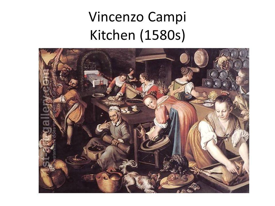 Vincenzo Campi Kitchen (1580s)