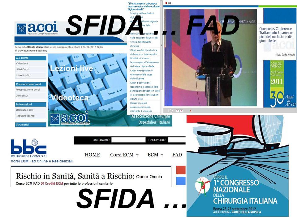 SFIDA … SFIDA … FAD