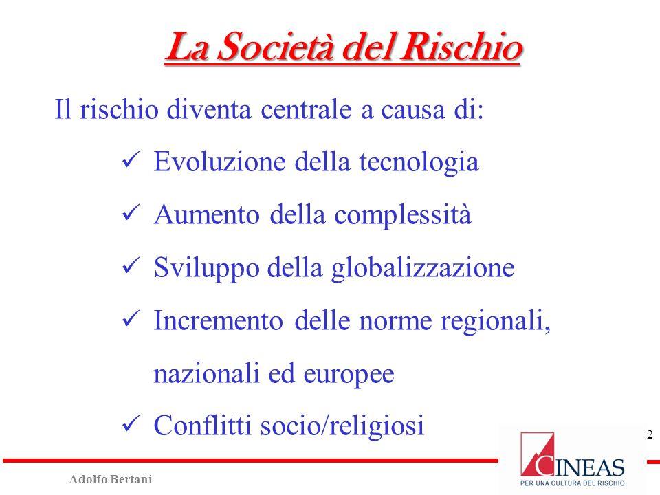 Adolfo Bertani 12 Cineas nel 2014 29/01/2014: Convegno «Calamità Naturali - L esperienza Abruzzo e la proposta Cineas».