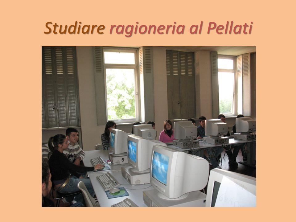Studiare ragioneria al Pellati