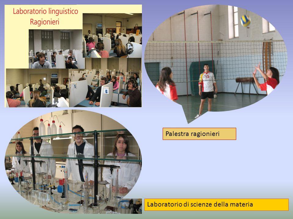 Materie di insegnamento triennioCL.IIICL. IVCL.