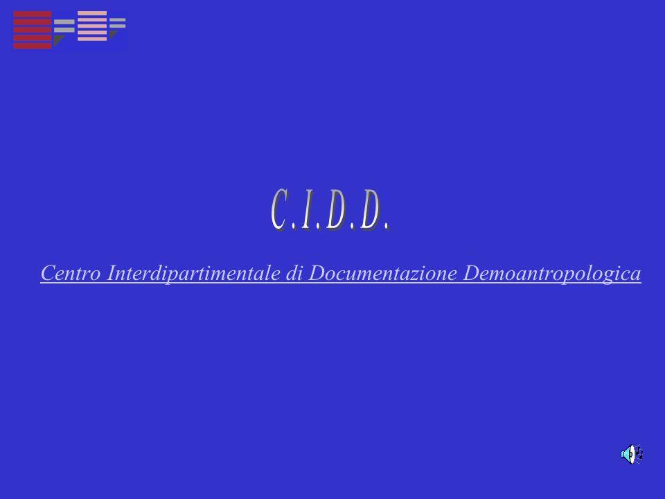 Centro Interdipartimentale di Documentazione Demoantropologica