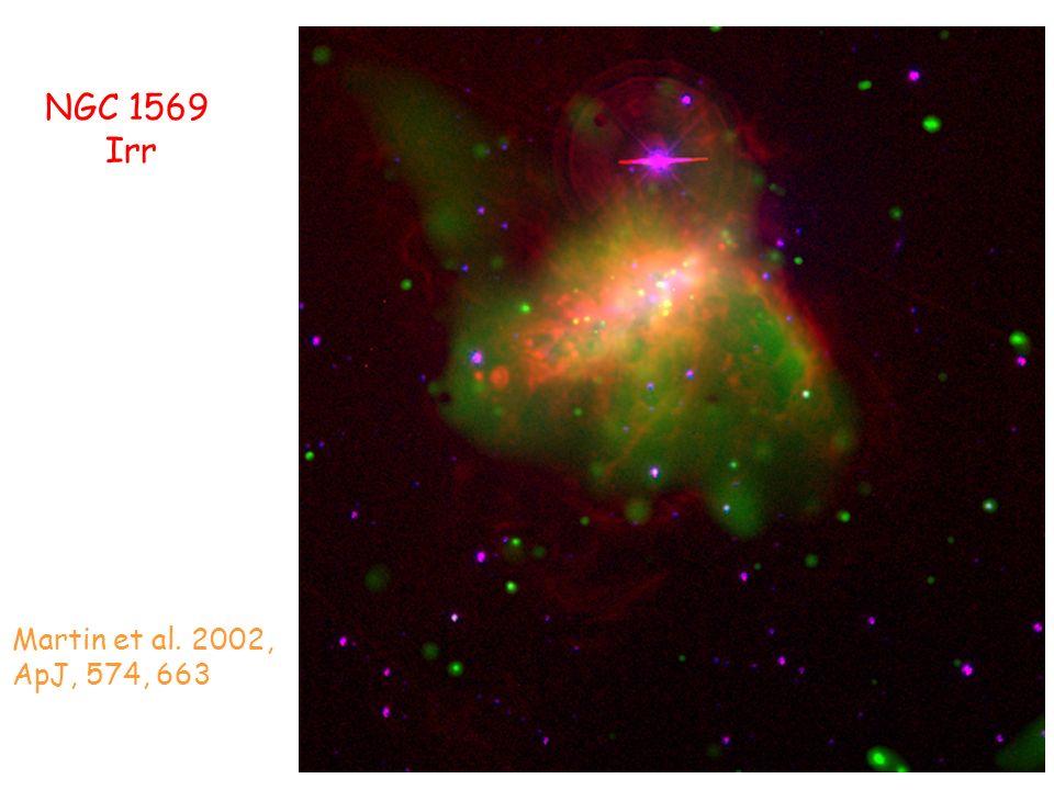 NGC 1569 Irr Martin et al. 2002, ApJ, 574, 663