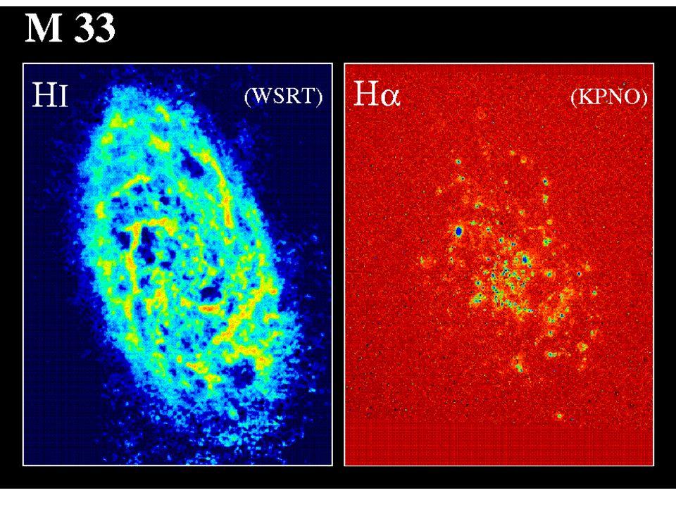 Particelle relativistiche, Campi Emissione continua radio (cm) di galassie è principalmente dovuta ad emissione non-termica di sincrotrone proveniente da elettroni relativistici nel campo magnetico della galassia –Quindi lemissione radio (distribuzione, polarizzazione) traccia i processi ad alta energia e la struttura o forza del campo magnetico interstellare