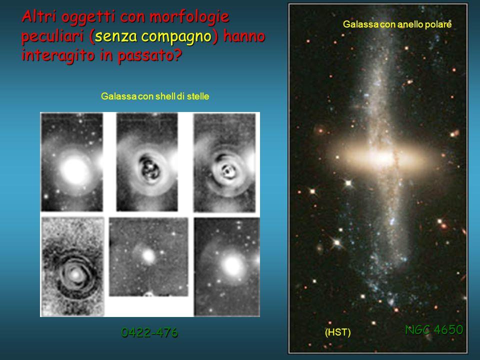 Altri oggetti con morfologie peculiari (senza compagno) hanno interagito in passato.
