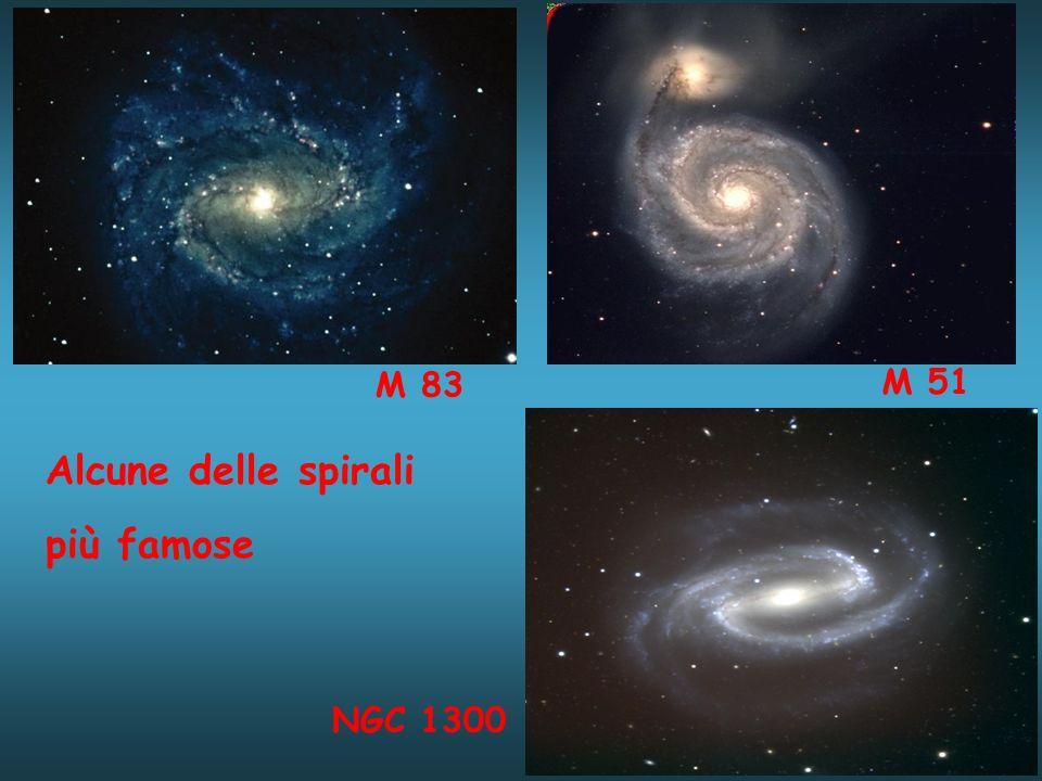 M 83 NGC 1300 Alcune delle spirali più famose M 51