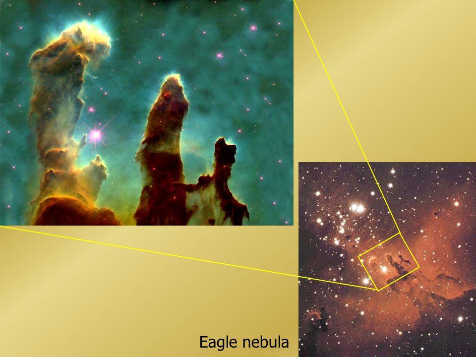 Dumbbell nebula Ring nebula (M57) Cats Eye nebula