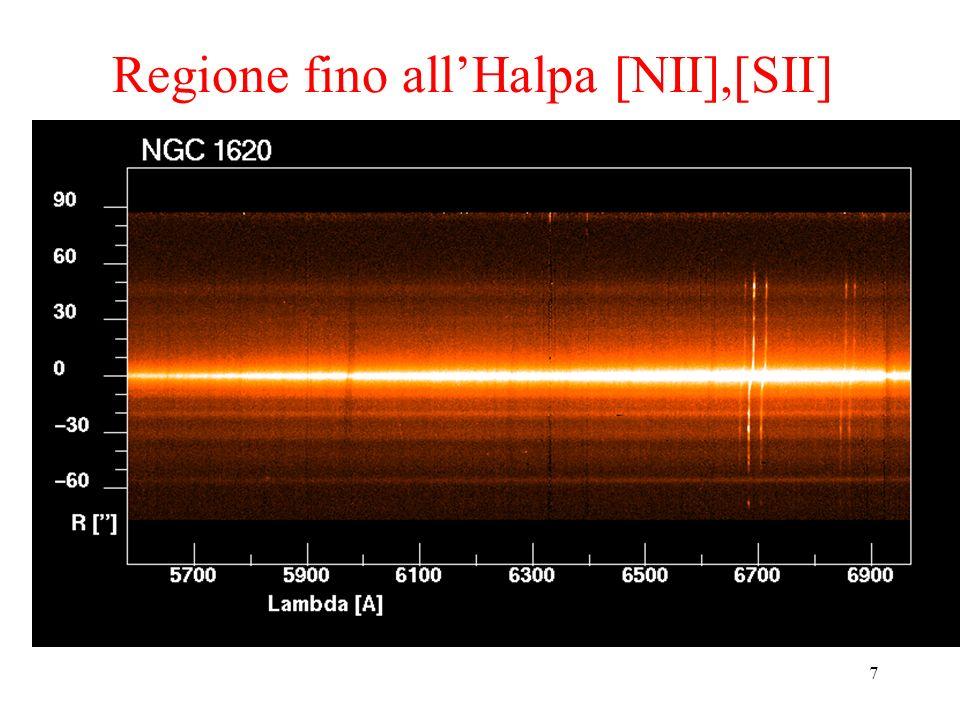 38 Gli spettri delle galassie Lo spettro osservato di una galassia è la somma degli spettri delle singole stelle lungo la linea di vista, spostati in lunghezza donda per Effetto Doppler a seconda delle loro velocità radiali.