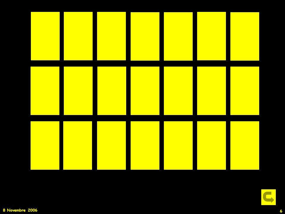 8 Novembre 2006 47 Gli Spettri Stellari Lo spettro di una stella è costituito dalla somma SPETTRO DI CORPO NERO proveniente dallinterno della stella SPETTRO DI ASSORBIMENTO dovuto alla fotosfera stellare Spettro continuo + assorbimento Spettro di Corpo Nero