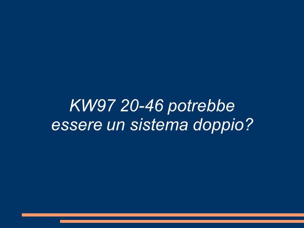 KW97 20-46 potrebbe essere un sistema doppio