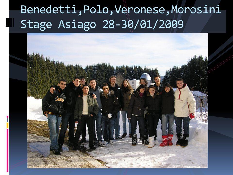 Benedetti,Polo,Veronese,Morosini Stage Asiago 28-30/01/2009