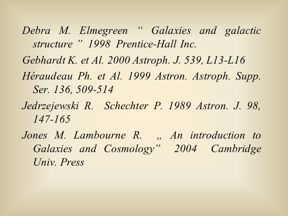 Debra M. Elmegreen Galaxies and galactic structure 1998 Prentice-Hall Inc.