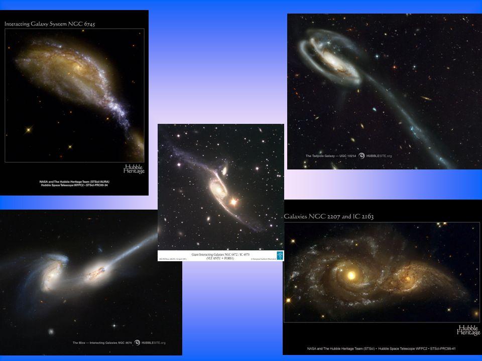 IL NOSTRO LAVORO Partendo dalle immagini in filtro g delle due galassie ne abbiamo studiato la distribuzione della luce, servendoci delle isofote che sono caratterizzate da punti di stessa intensità.